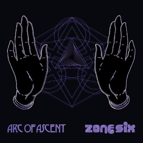 ARC OF ASCENT/ZONE SIX - Split Lp - LP (black) Headspin Psychedelic