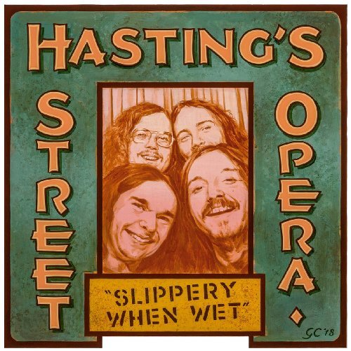 HASTINGS STREET OPERA - Slippery When Wet - LP 1969 Out Sider Psychedelic