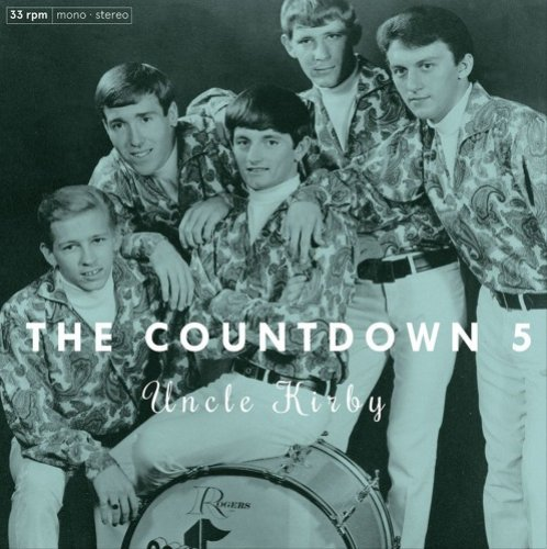 COUNTDOWN 5, THE - Uncle Kirby - LP 1967 Out Sider Garage