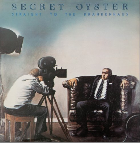 SECRET OYSTER - Straight To The Krankenhaus - LP Longhair Progressiv Jazzrock