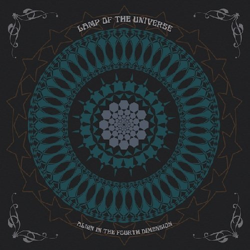 LAMP OF THE UNIVERSE - Align In The Fouth Dimension - LP (turquoise) Sulatron Psychedelic