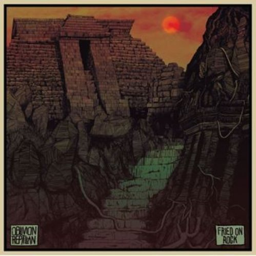 OBLIVION REPTILIAN - Fried On Rock - LP gold Sound Effect Psychedelic Spacerock