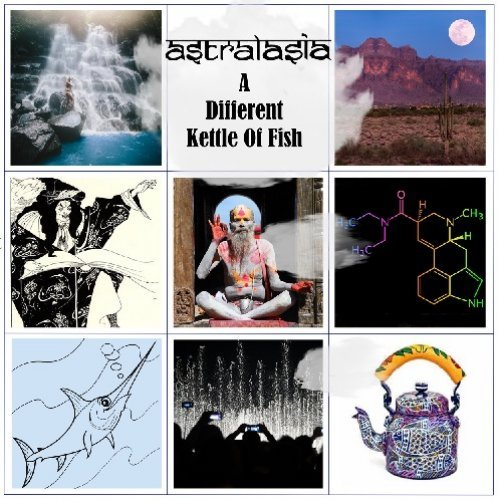 ASTRALASIA - A Different Kettle Of Fish - 2 LP (clear/purple) Fruits De Mer Psychedelic