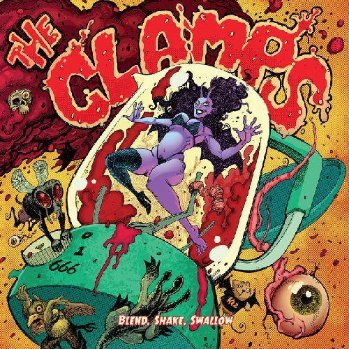 CLAMPS - Blend Shake Swallow - LP (green) Headspin Psychedelic Stonerrock