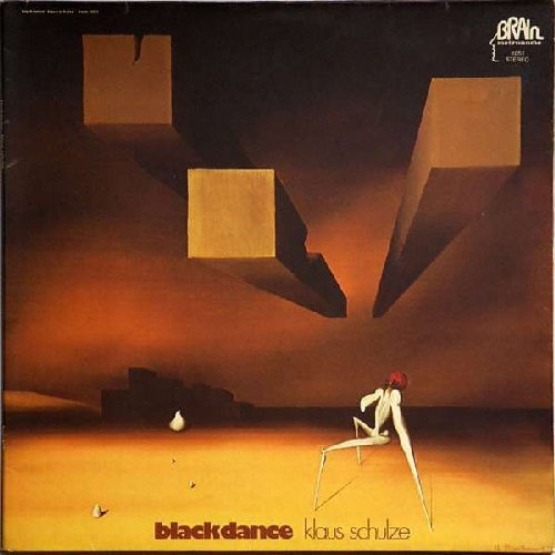 SCHULZE, KLAUS - Blackdance - LP 1974 Brain Krautrock Elektronik