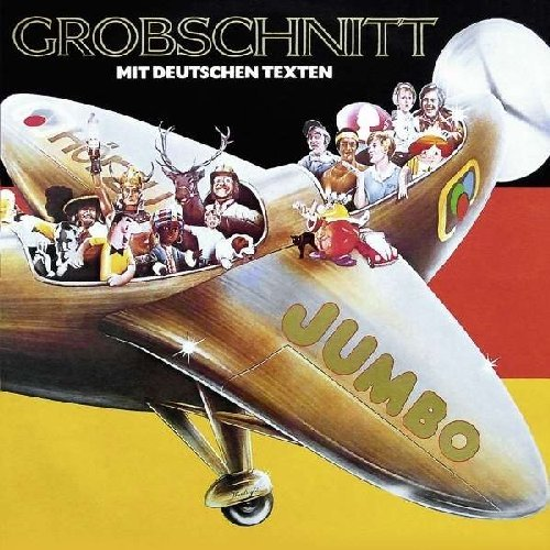 GROBSCHNITT - Jumbo - CD 1976 German Version Brain Krautrock Progressiv