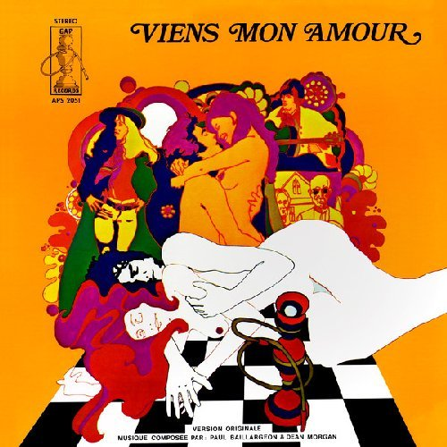 BAILLARGEON, PAUL & MORGAN, DEAN - Viens Mon Amour - LP TRESOR NATIONAL Psychedelic Funk
