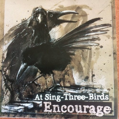 AT SING- THREE-BIRDS -  Encourage -  LP + CD Psychedelic Krautrock