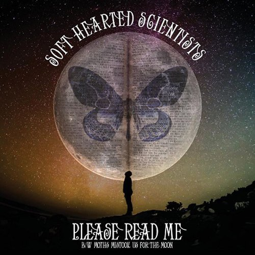 SOFT HEARTED SCIENTISTS - Please Read Me/moths Mistook Us .. - 7 inch white Frui Psychedelic