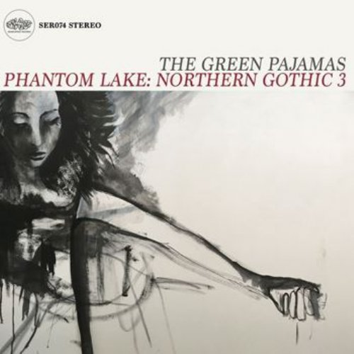 GREEN PAJAMAS - Phantom Lake Northern Gothic 3 - 2 LP red Sound Effect Psychedelic