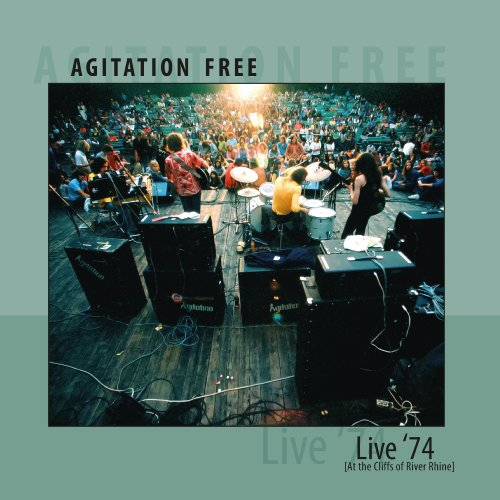 AGITATION FREE - Live �74 (at The Cliffs Of River Rhine) - LP 1974 MadeInGermany Krautrock Progressiv