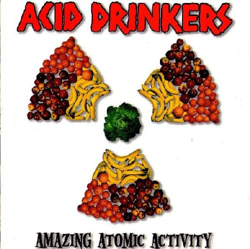 Acid Drinkers - Amazing Atomic Activity - CD 218 Metal Mind Productions Heavy Metal
