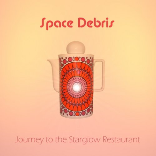 SPACE DEBRIS - Journey To The Starglow Restaurant Deluxe - 2 LP Green BrainBrei Krautrock Progressiv