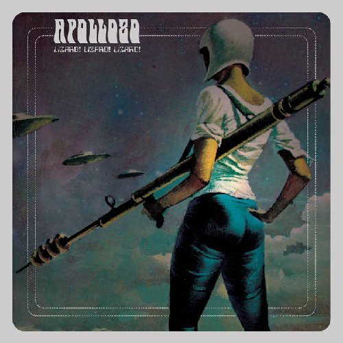APOLLO8 - Lizardlizardlizard - LP orange Sound Effect Spacerock Stonerrock