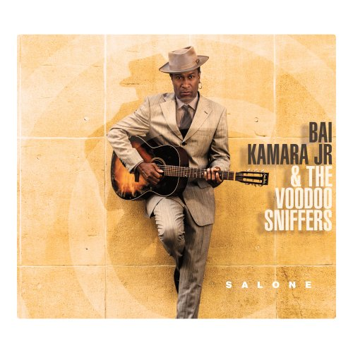 BAI KAMARA JR. & THE VOODOO SNIFFERS - Salone - CD Moosicus Soul Blues