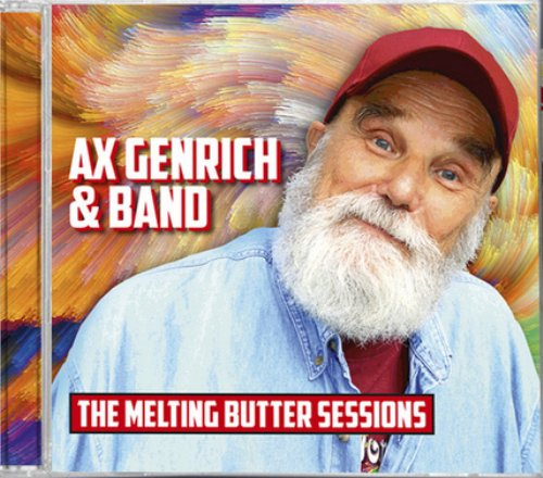 AX GENRICH & BAND - The Melting Butter Sessions - CD Self release Krautrock Psychedelic