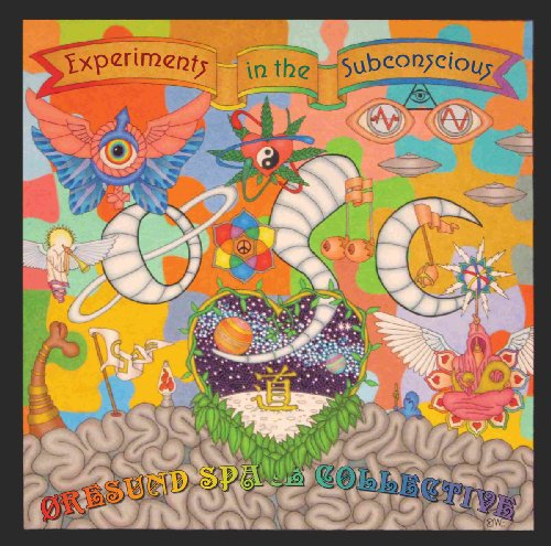 ORESUND SPACE COLLECTIVE - Experiments In The Subconscious - 2 LP redorange S Psychedelic