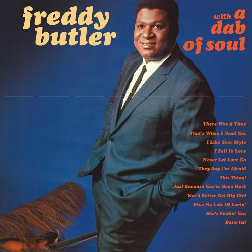 FREDDY BUTLER - With A Dab Of Soul - CD 1967 Everland