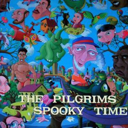 THE PILGRIMS - Spooky Time - LP 1972 Shadoks Psychedelic
