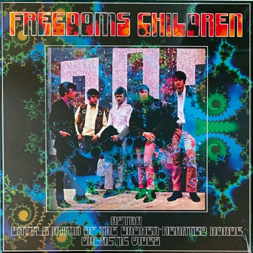 FREEDOMS CHILDREN - Astrabattlehymngalactic Vibes - 3 LP Box Shadoks Psychedelic Bluesrock
