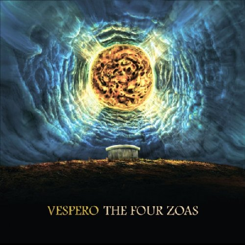 VESPERO - The Four Zoas - 2 CD Album  Live Deluxe Edition Tonzonen Psychedelic