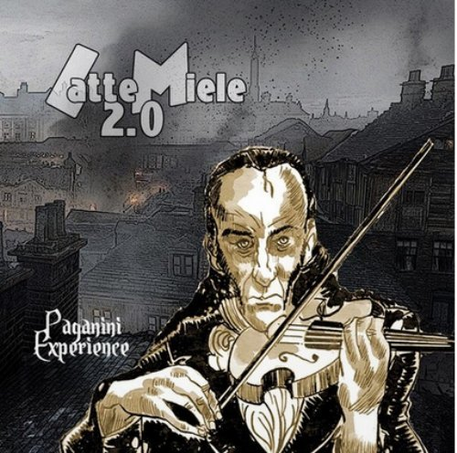 LATTE MIELE 2.O - Paganini Experience - LP Black Widow Elektronik
