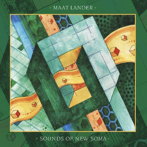 MAAT LANDER  SOUNDS OF NEW SOMA - Split - LP black Tonzonen Experimental Spacerock