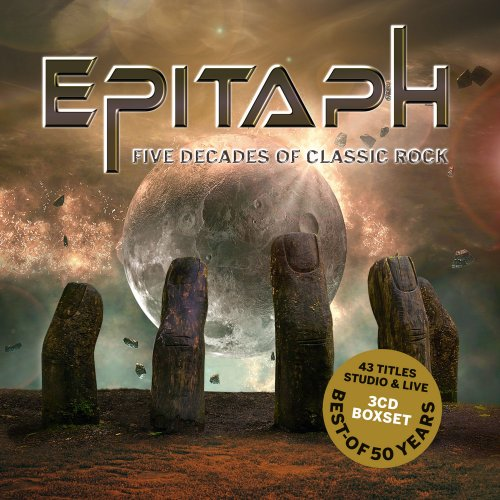 EPITAPH - Five Decades Of Classic Rock  Best Of - 3 CD MadeInGermany Krautrock Progressiv