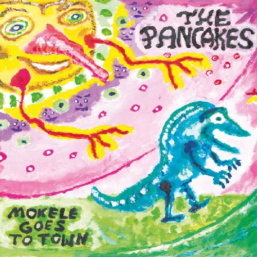 THE PANCAKES - Mokele Goes To Town - 2 LP Kerntonschall Psychedelic Krautrock