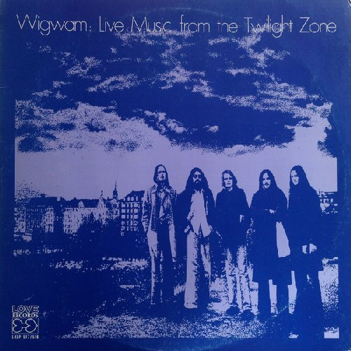 WIGWAM - Live Music From The Twilight Zone - 2 LP blue Svart Progressiv