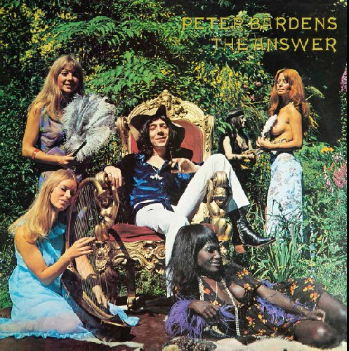 PETER BARDENS - The Answer - LP 197 Longhair Psychedelic
