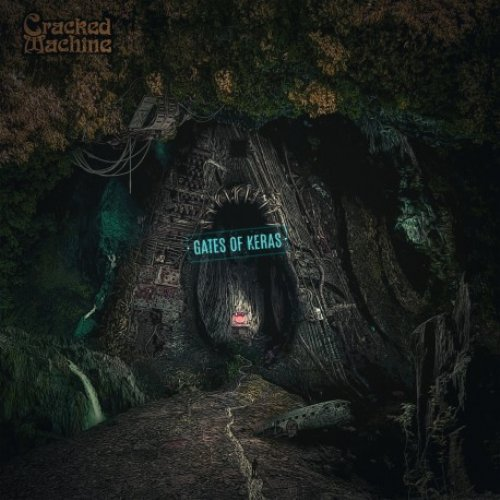 CRACKED MACHINE - Gates Of Keras - CD Psyka Psychedelic Spacerock