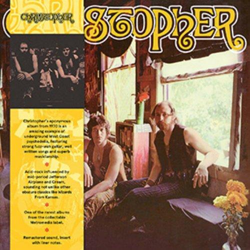 CHRISTOPHER - Christopher - LP brown Out Sider Underground Acid Rock