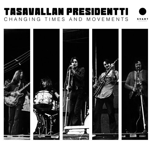 TASAVALLAN PRESIDENTTI - Changing Times And Movements - 2 LP black Svart Progressiv