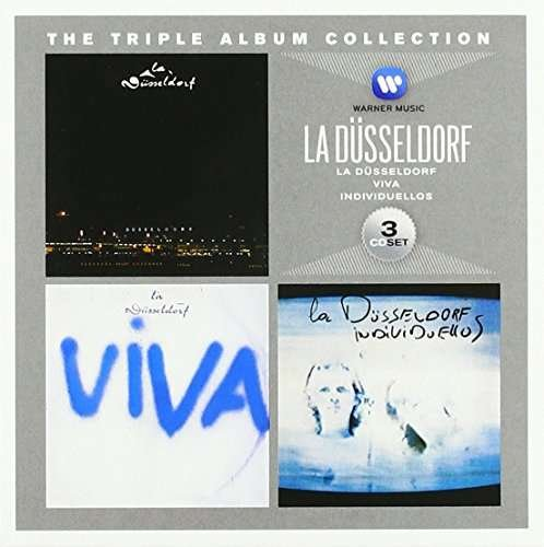 LA DSSELDORF - The Triple Album Collection - 3 CD Box Warner Elektronik Krautrock