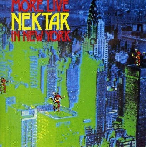 NEKTAR - More Live in New York - CD 1978 Bacillus Bacillus Krautrock Progressiv