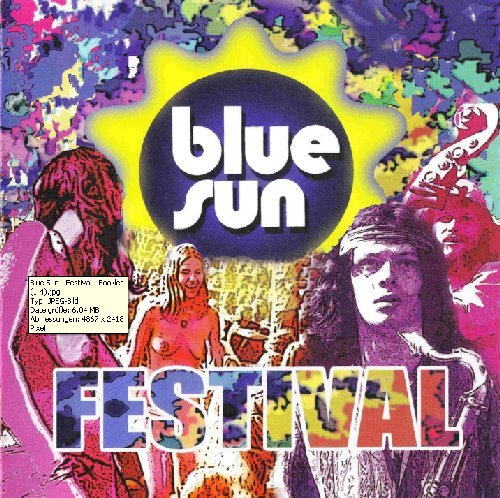 BLUE SUN - Festival - CD - 2 LPs + 1 Single on 1 CD 1970 Karma Progressiv Jazzrock