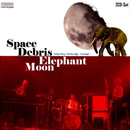 SPACE DEBRIS - Elephant Moon - 2 CD 28 Krautrock Green BrainBreitklang Progressiv