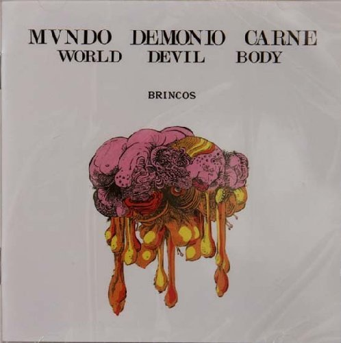 BRINCOS - World Devils Body - CD 1970 Psychedelic BMG