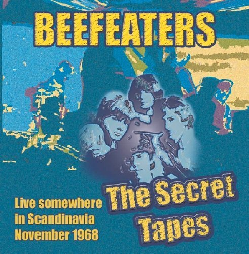 BEEFEATERS - The Secret Tapes - CD 1968 Karma Psychedelic Bluesrock