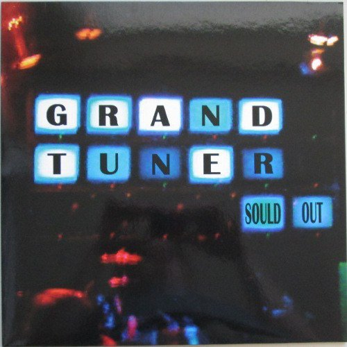 GRAND TUNER - Sould out - LP 23 black Nasoni Psychedelic Stonerrock