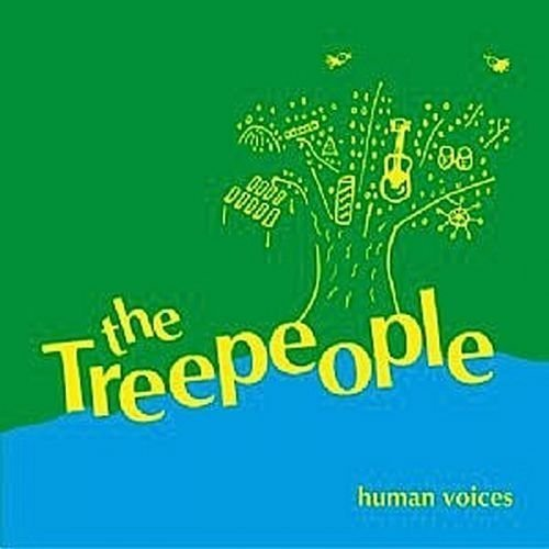 TREE PEOPLE - Human voices - CD Guerssen Psychedelic Folkrock
