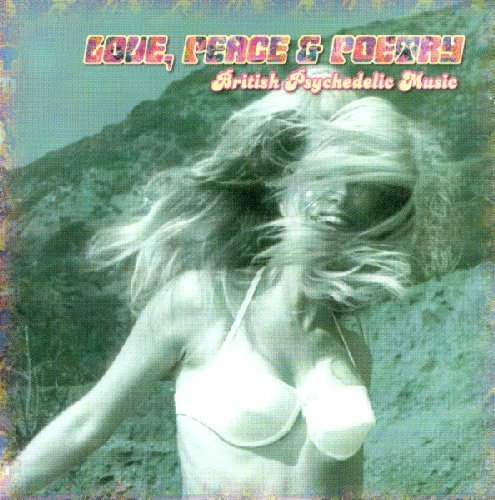 LOVE, PEACE & POETRY - British Psychedelic Music - CD Normal Records
